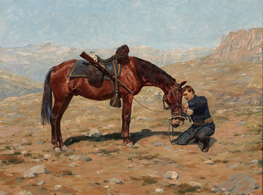Art of the american west the haub family collection for The art of painting