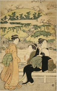 Utagawa Hiroshige II (Japanese, 1826-1869) Yoshida, 1863 Woodblock print 14 1/8 x 9 5/8 in. (35.9 x 24.4 cm) Tacoma Art Museum, Gift of Al and Betsy Buck in memory of Alfred Eliab Buck and Ellen Baker Buck, 2006.19.8