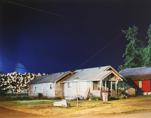 Eirik Johnson (American, born 1974) Behind the Bay City Log Sorting Yard, Cosmopolis, Washington, 2007 Pigment print 16 x 20 in. (40.6 x 50.8 cm) Tacoma Art Museum, Gift of Clint Willour, 2010.16.2