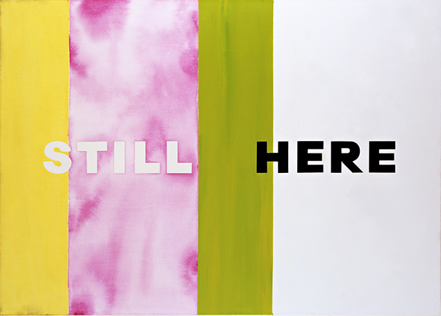 Still Here by Deborah Kass, 2007