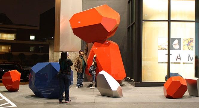 Outdoor Sculptures at TAM 7