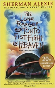 Book cover of The Lone Ranger and Tonto Fistfight in Heaven.