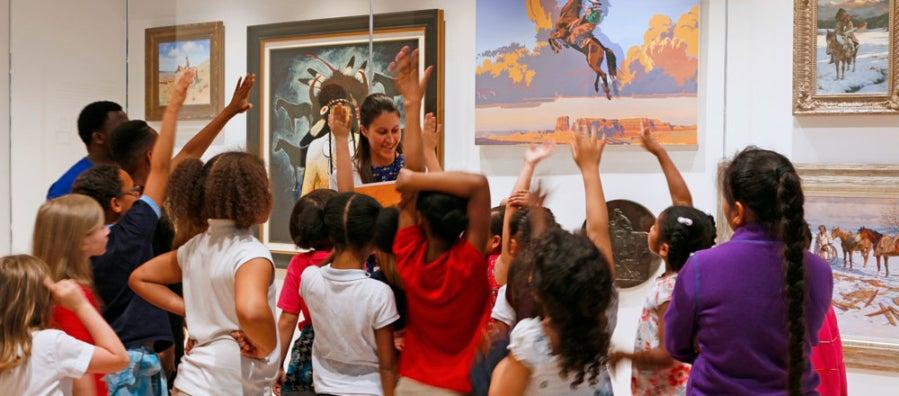 School Field Trip Programs   Tacoma Art Museum
