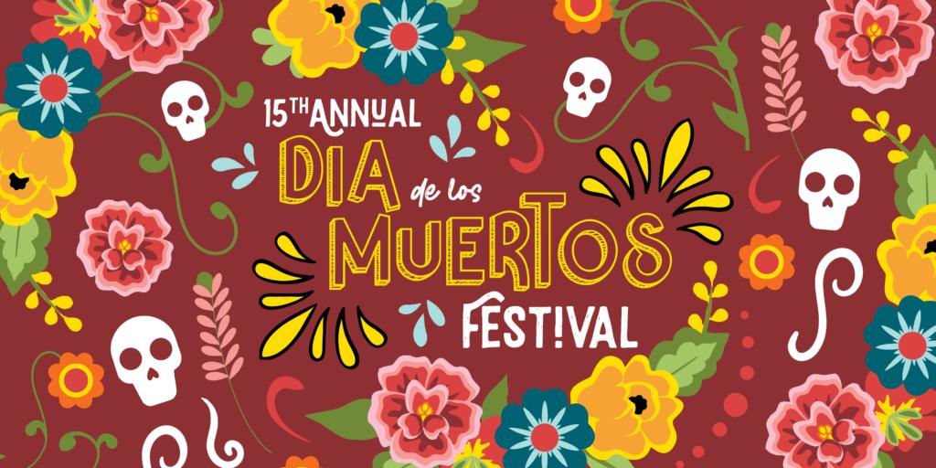 Logo for Dia de los Muertos Festival