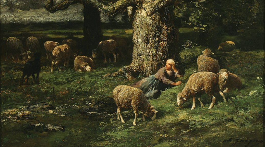 Object of the Week - Shepherdess and Sheep