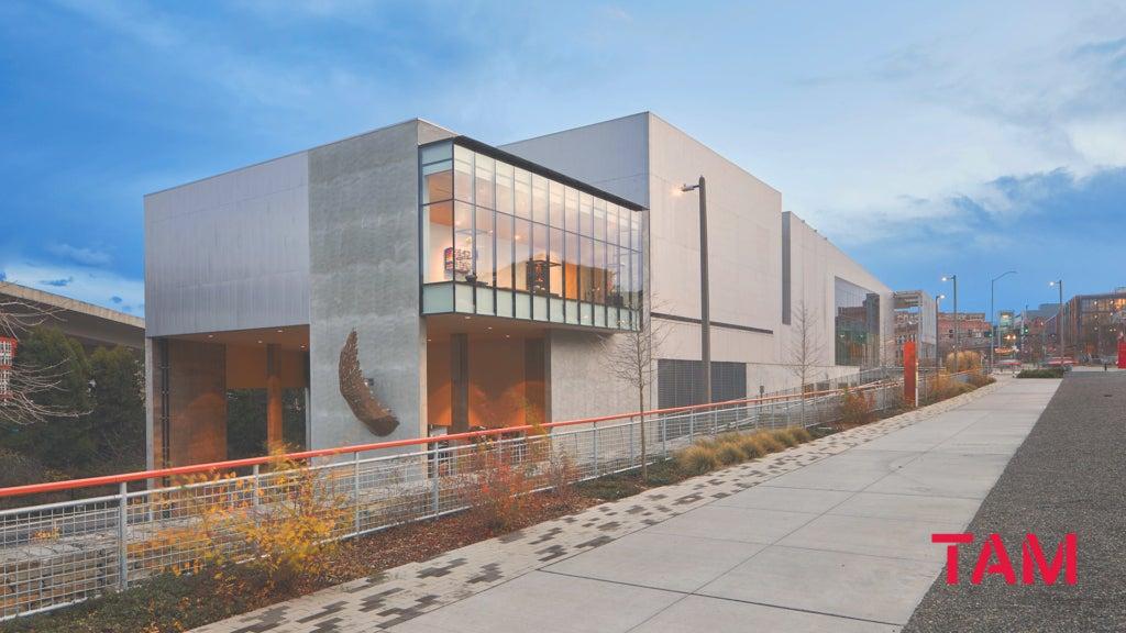 Exterior view of Tacoma Art Museum's Benaroya Wing.