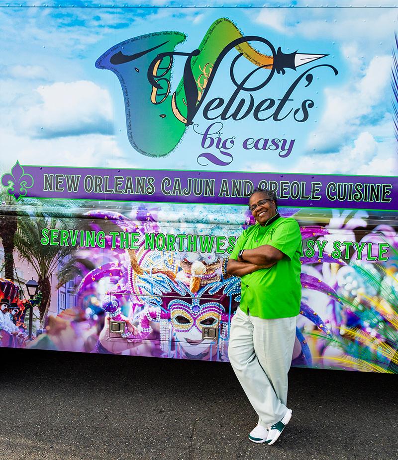 Photo of Velvet's Big Easy owner and head chef Brenda Miller