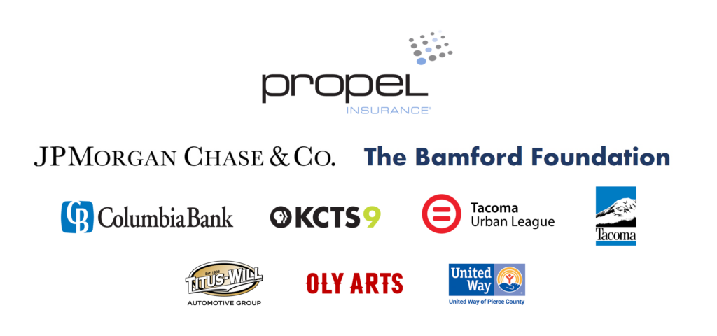 Logo layout of sponsors for the Kinsey African American Art & History Collection